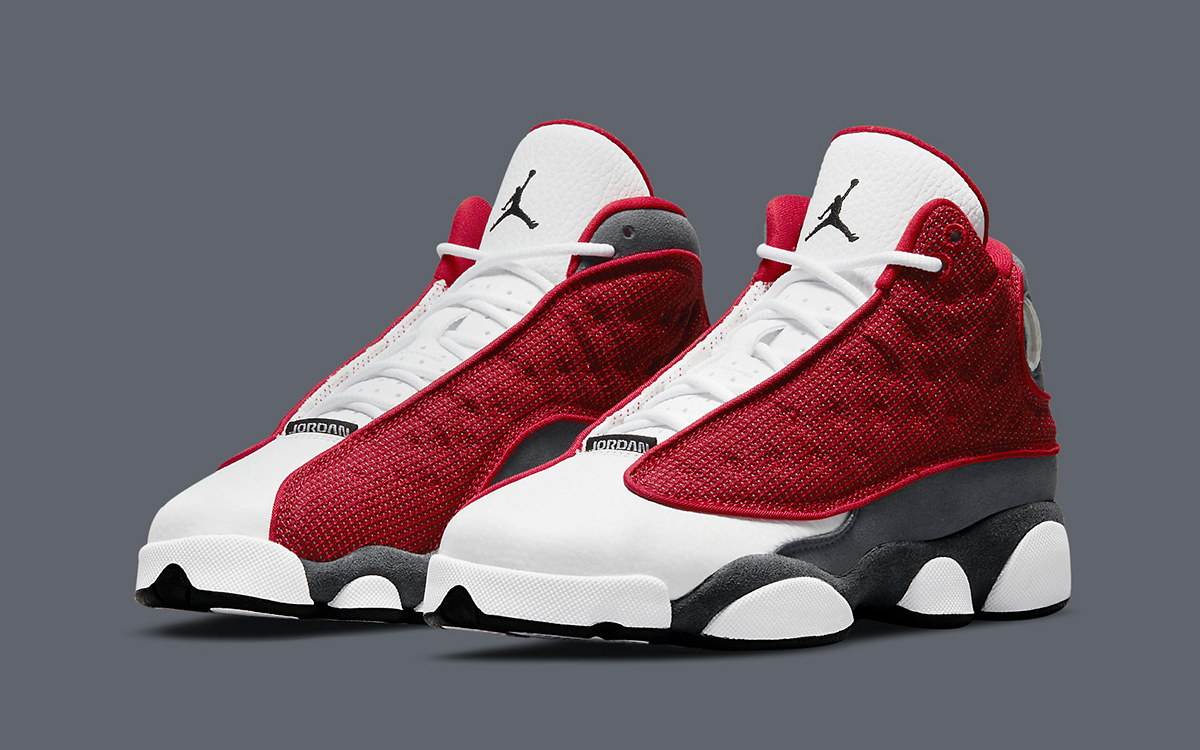 "Official Images // Air Jordan 13 ""Red Flint"""