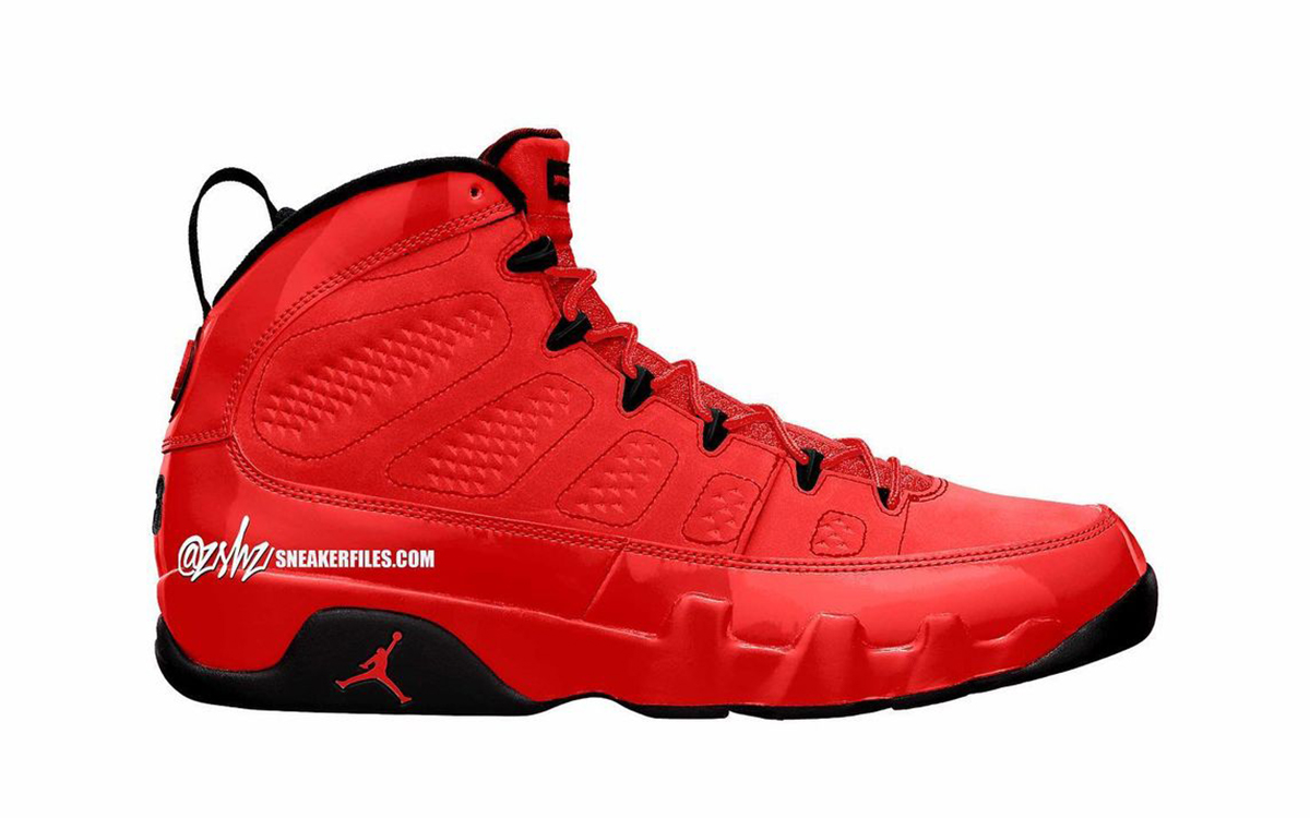 "Air Jordan 9 ""Chile Red"" Expecting November Arrival"