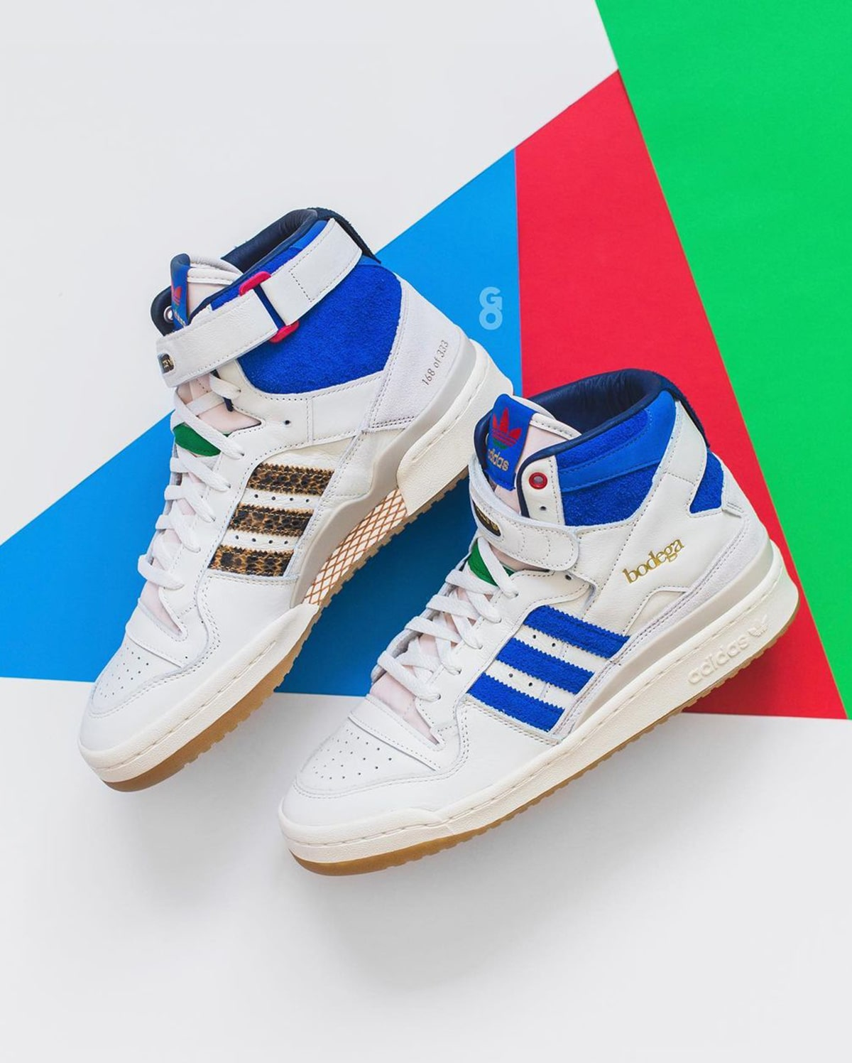 Bodega x adidas Forum Hi F&F is Limited to Just 333 Pairs