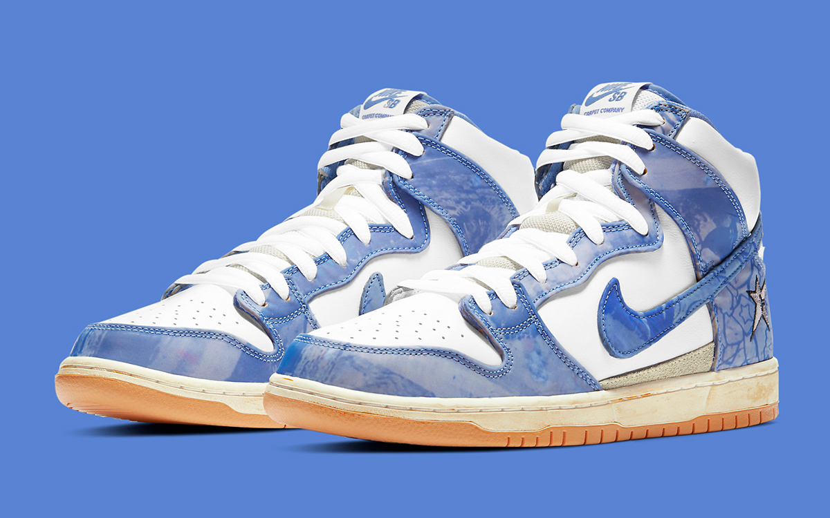Official Images // Carpet Company x Nike SB Dunk High