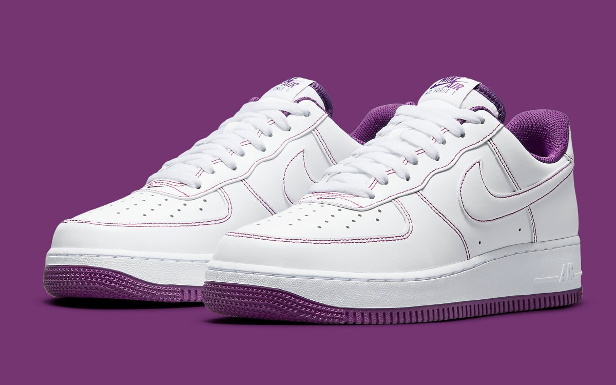 Available Now // Contrast Stitch Air Force 1 Low