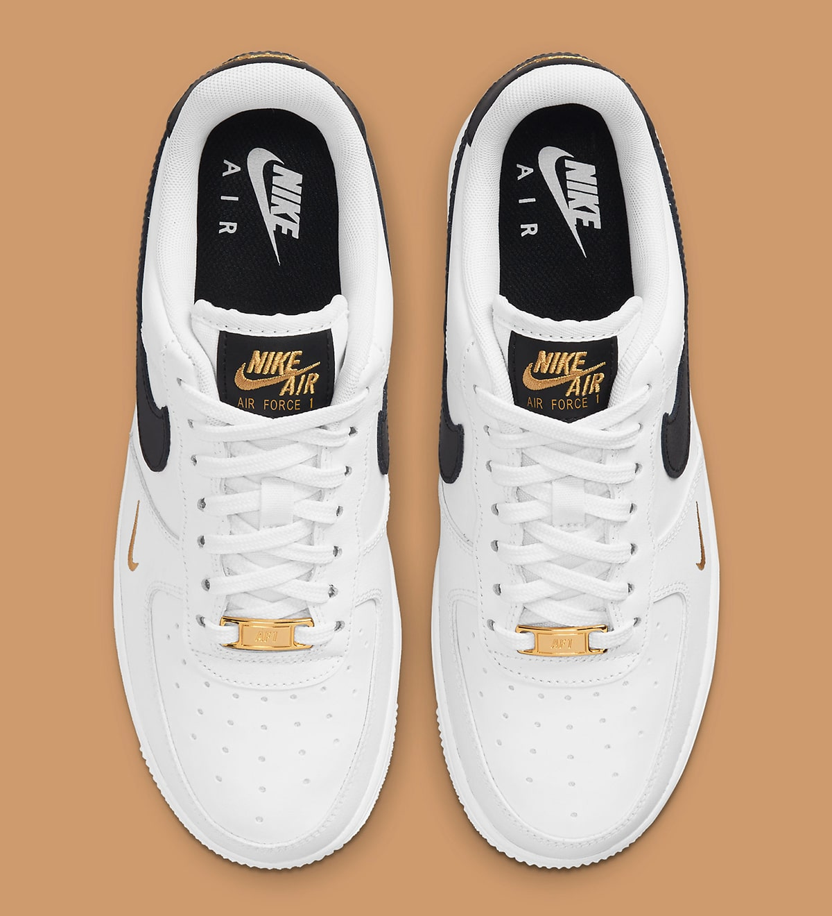 The Air Force 1 Gets Elevated With Elegant Gold Accents   HOUSE OF ...