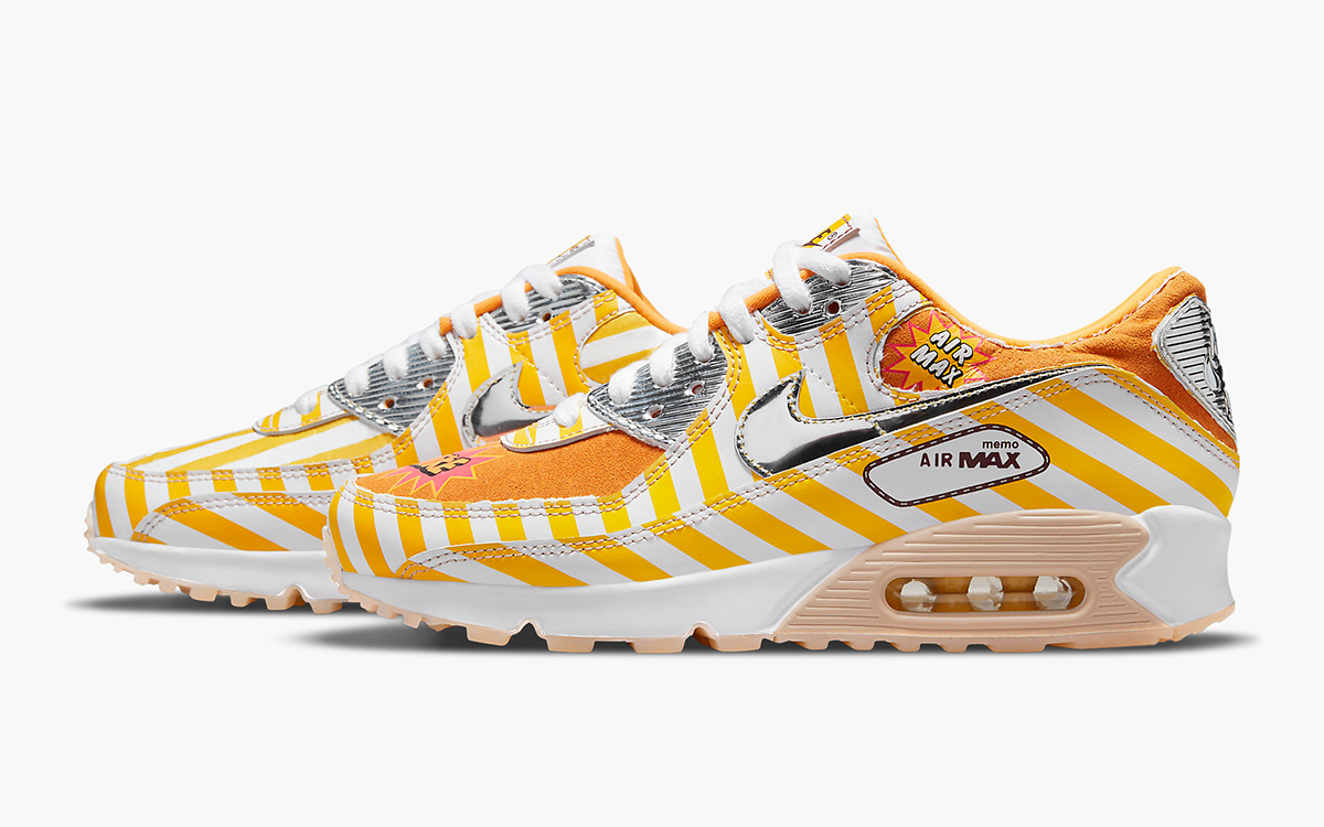 """Fired Chicken Inspired Air Max 90 """"Swoosh Mart"""" Arrives March 19th"""