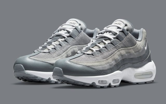"""Available Now // Air Max 95 """"Cool Grey"""""""