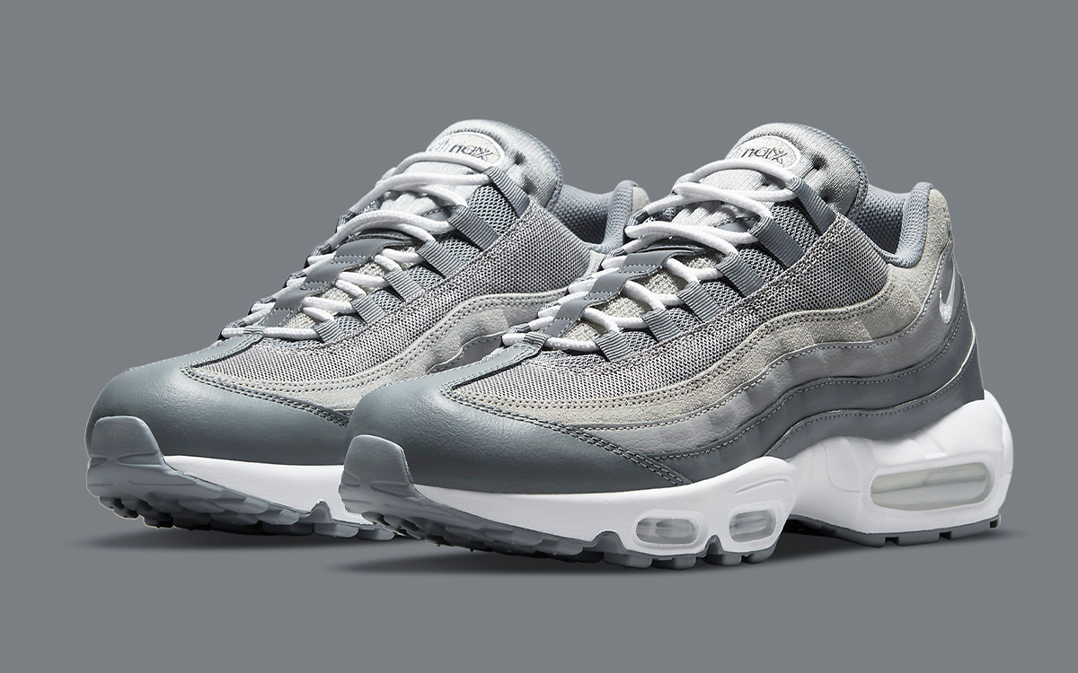 "Available Now // Air Max 95 ""Cool Grey"""