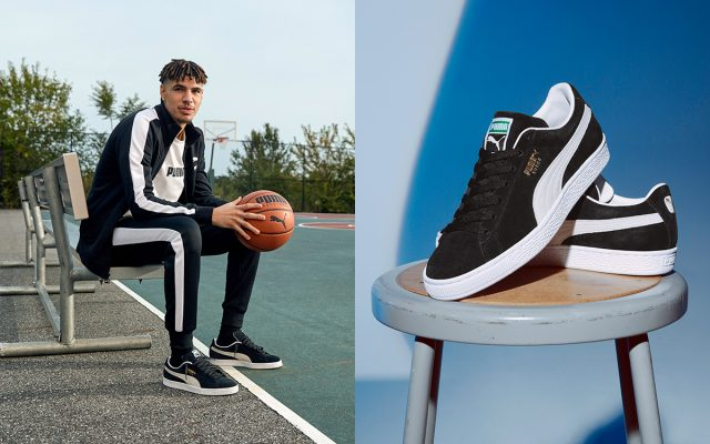 LaMelo Ball Introduces the PUMA Suede XXI