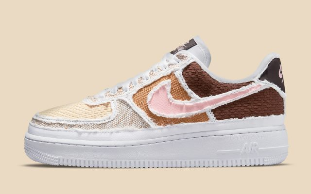 """Tear-Away Nike Air Force 1 """"Fauna Brown"""" Earmarked for May 15th Release"""