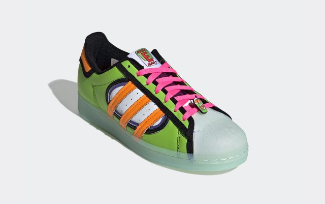 """Official Images // Simpsons x adidas Superstar """"Squishee"""""""