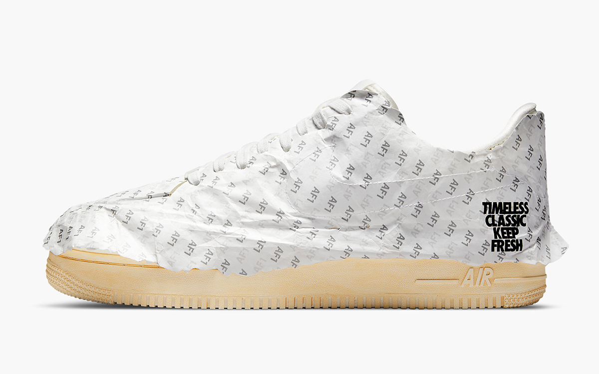 """Air Force 1 Low """"Keep 'Em Fresh"""" Comes Wrapped in Tissue"""