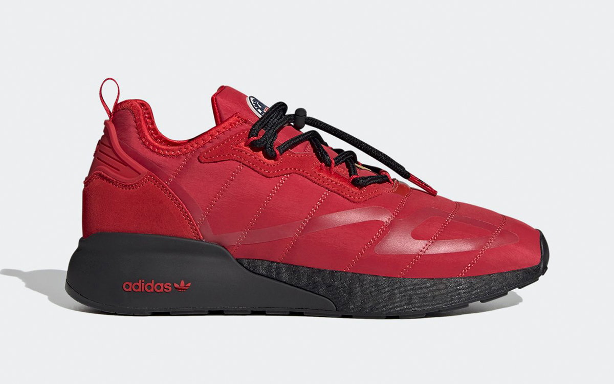 Winterized adidas ZX 2K BOOST Inspired by Outerwear
