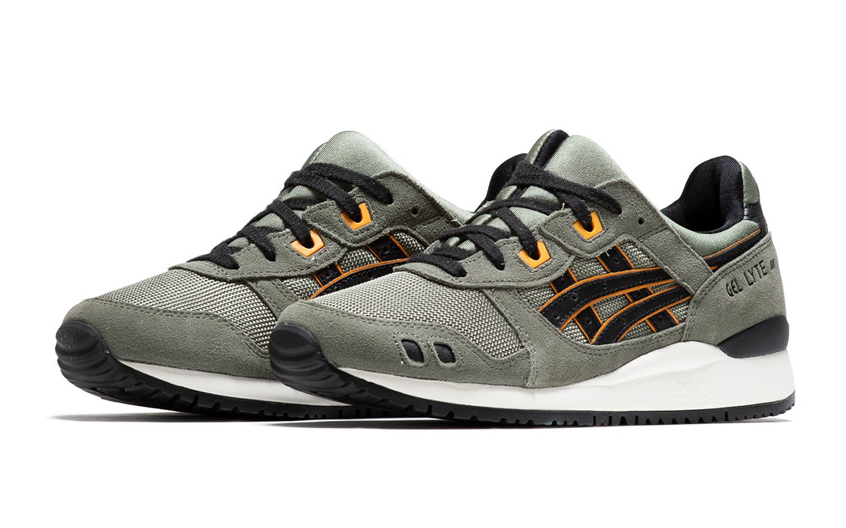 "Available Now // ASICS GEL-Lyte III ""Flight Jacket"""