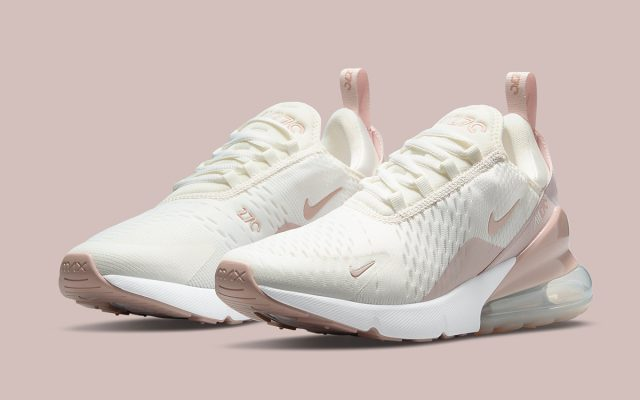 New Air Max 270 Boasts Sail, Beige and Pink