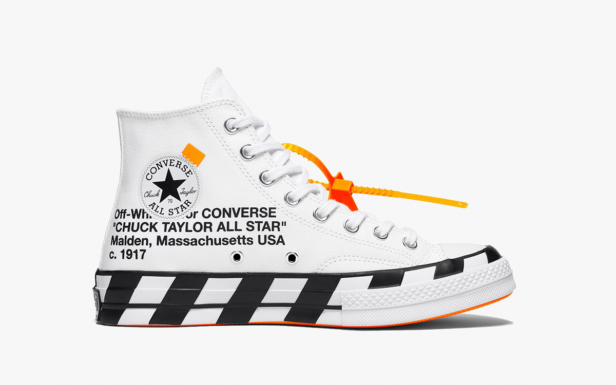 OFF-WHITE x Converse Chuck 70 Restock Confirmed for April 15th