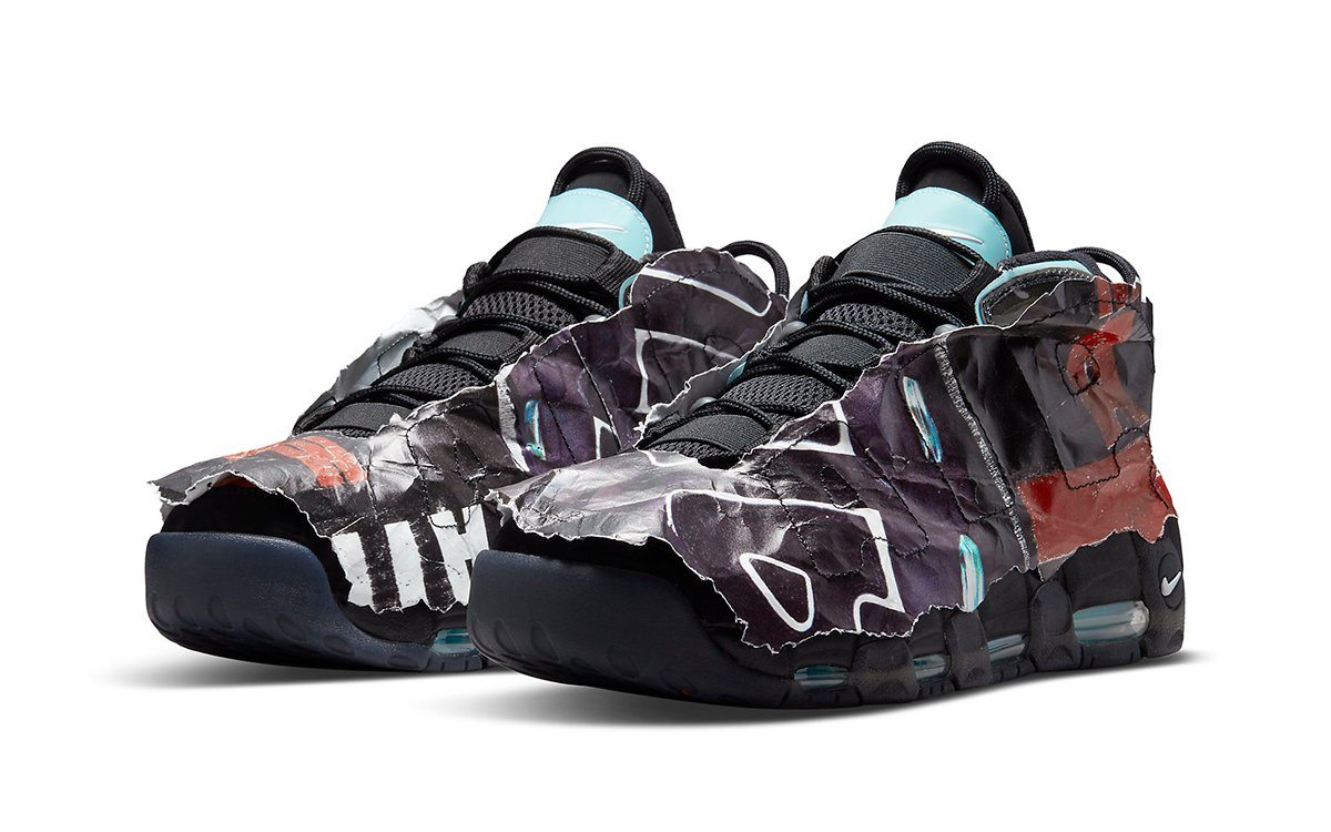 "Nike Air More Uptempo ""Maximum Volume"" Rocks-Out in Wrap"