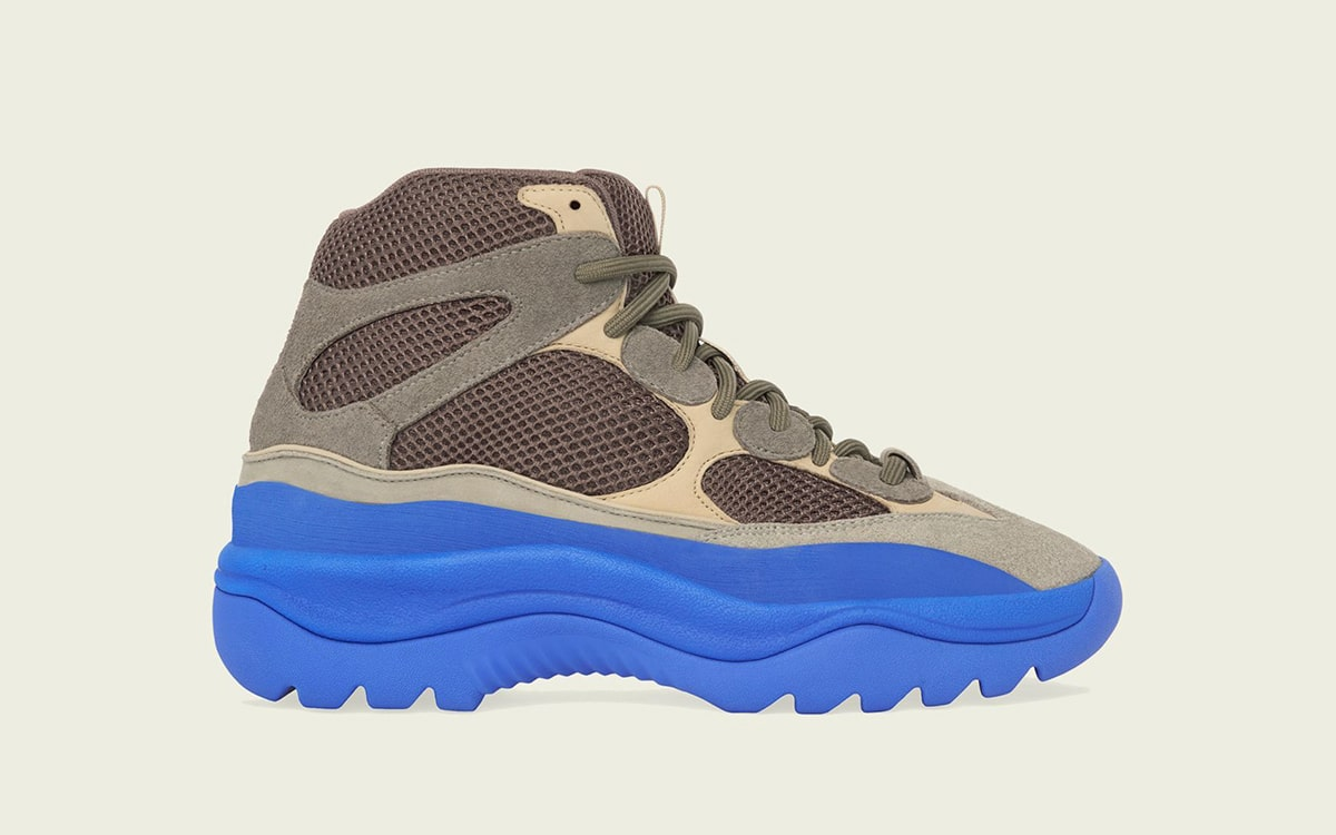 """YEEZY Desert Boot """"Taupe Blue"""" Releases March 29th"""