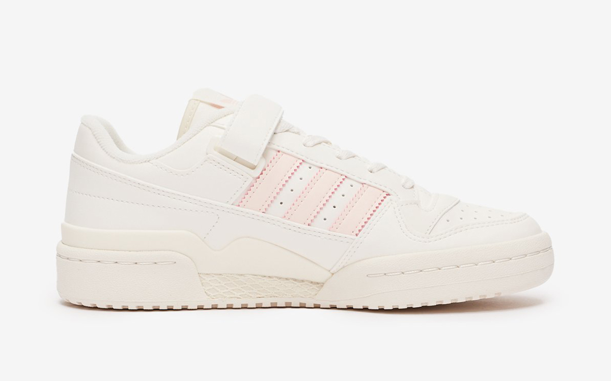 adidas Forum Low Appears in Sail and Pink for Spring