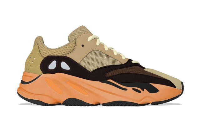 "YEEZY 700 V1 ""Enflame Amber"" Arriving For Summer"