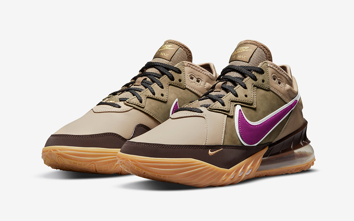 """Nike LeBron 18 Low """"Viotech"""" Arrives May 4th"""