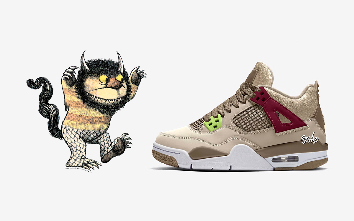 """Girls-Exclusive Air Jordan 4 """"Where the Wild Things Are"""" Arriving for the Holidays"""