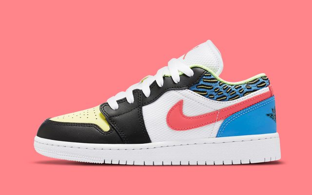 Colorful New Air Jordan 1 Low is Coming Soon for Kids