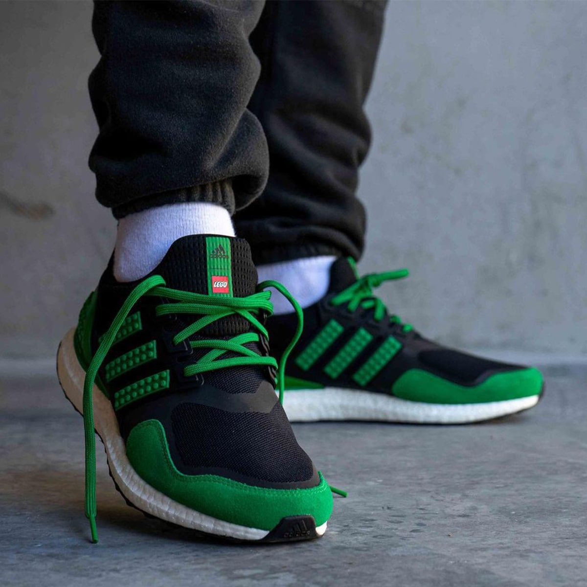 Another LEGO x adidas Ultra BOOST Appears in Black and Green