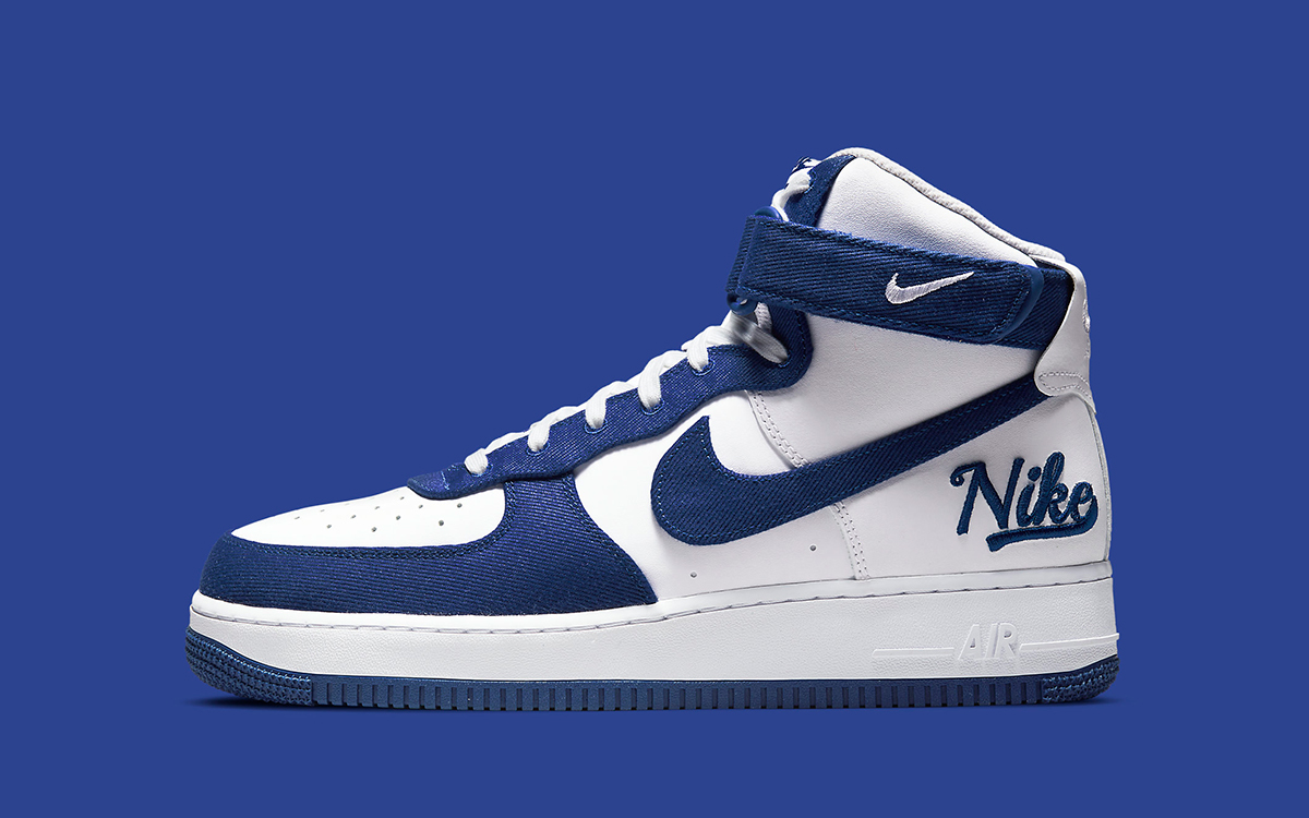 """Air Force 1 High EMB """"Dodgers"""" Drops May 28th"""