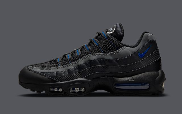 New Air Max 95 Appears in Black, Grey, and Royal Blue