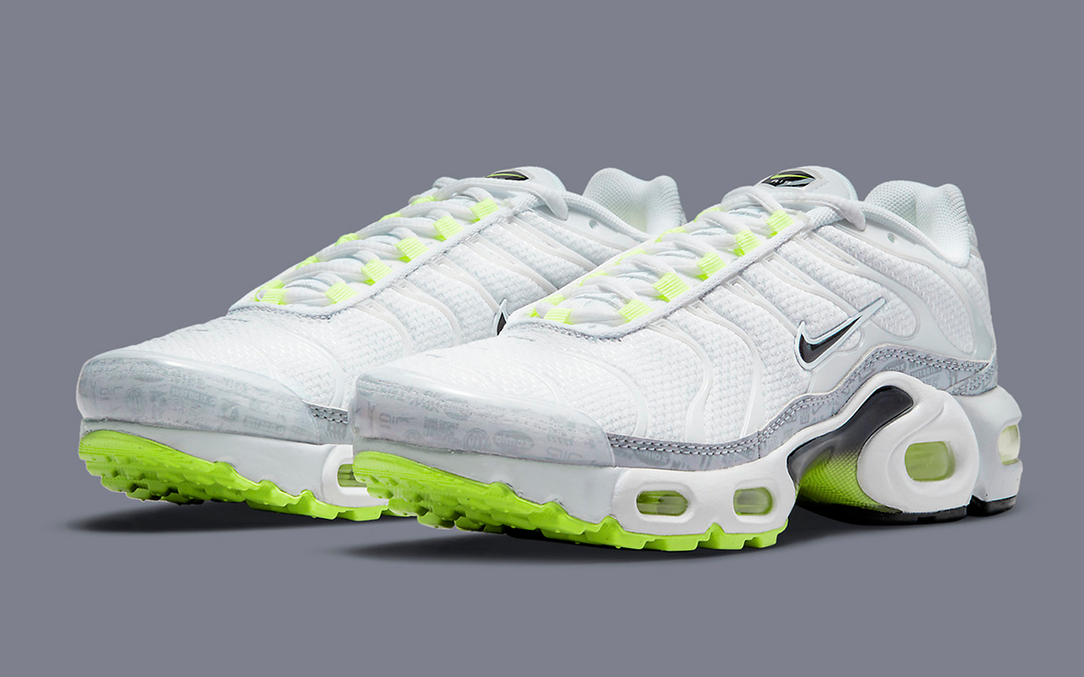 The Air Max Plus is Next in Nike's Neon Logo Pack