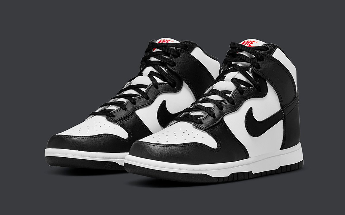 "Official Images // Nike Dunk High ""Black/White"""