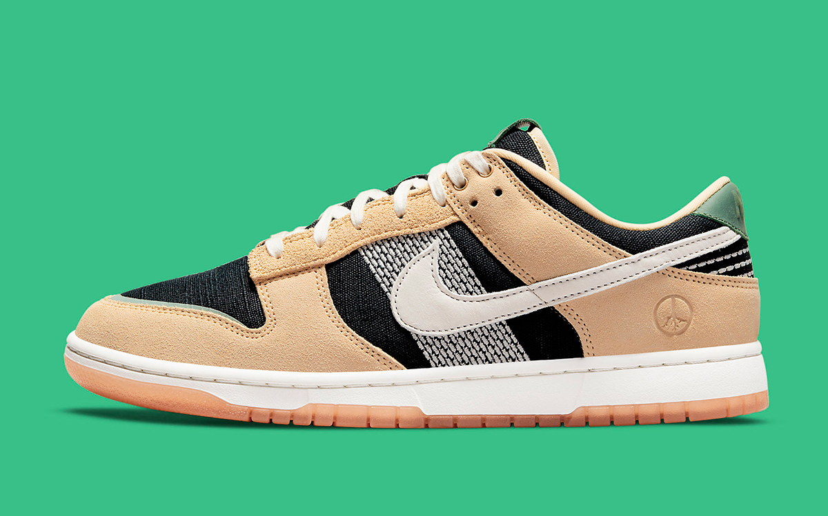 """Nike Dunk Low """"Rooted in Peace"""" Arrives May 31st"""