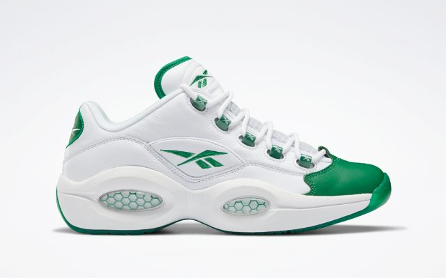 """Rajon Rondo's 2006 Reebok Question Low """"Green Toe"""" Releases May 14"""