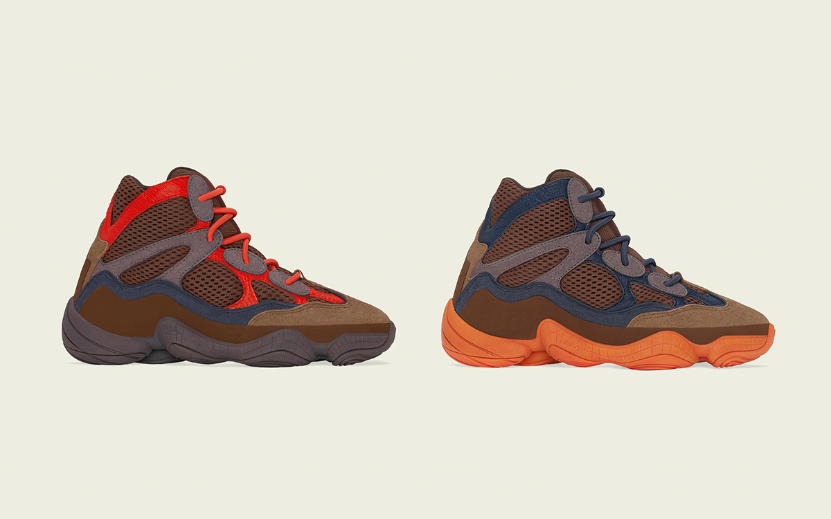 """""""Sumac"""" and """"Tactile Orange"""" YEEZY 500 Highs Arrive May 17th"""
