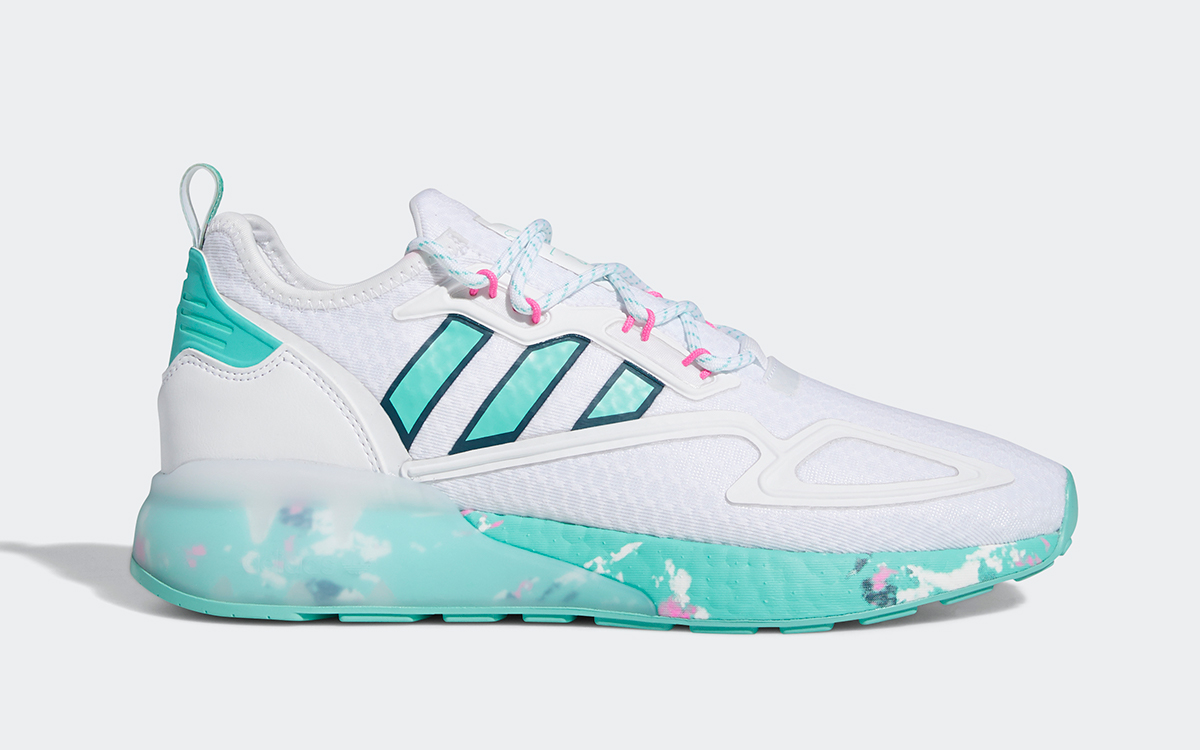 Available Now // adidas ZX 2K BOOST Adds a South Beach Steez for Summer