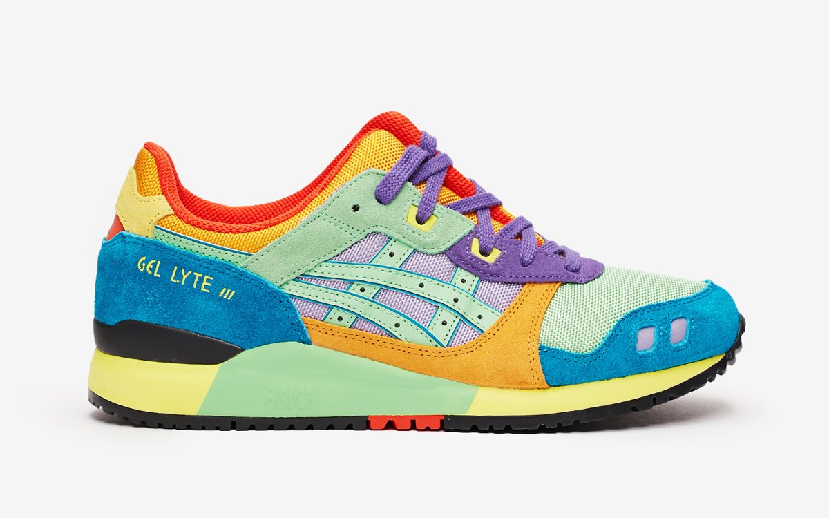 """Colorful ASICS GEL-Lyte III """"Tourmaline"""" Expecting Arrival for Pride"""
