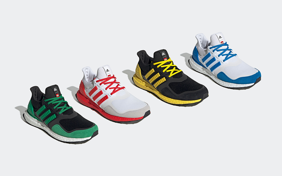 """LEGO x adidas Ultra BOOST """"Color Pack"""" is Landing Soon"""