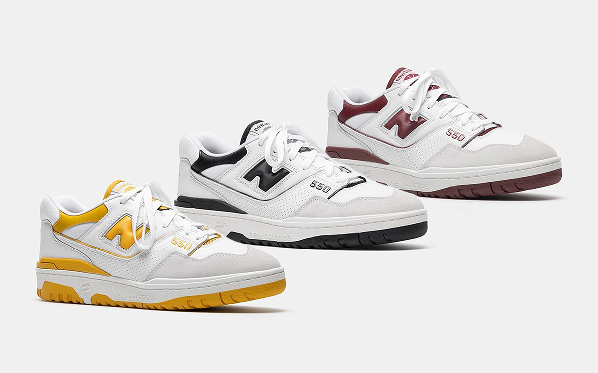 New Balance 550 Coming in Three New Colorways on May 7