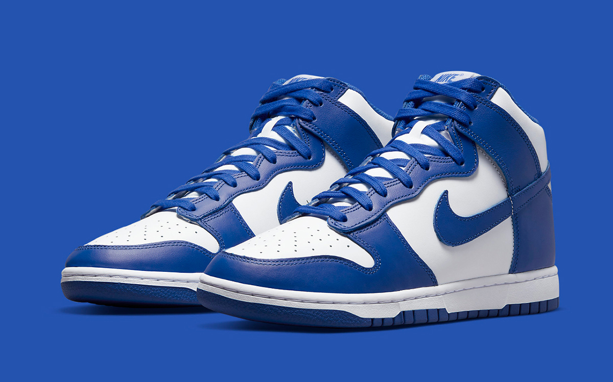 """Nike Dunk High """"Game Royal"""" Now Arrives June 29th"""