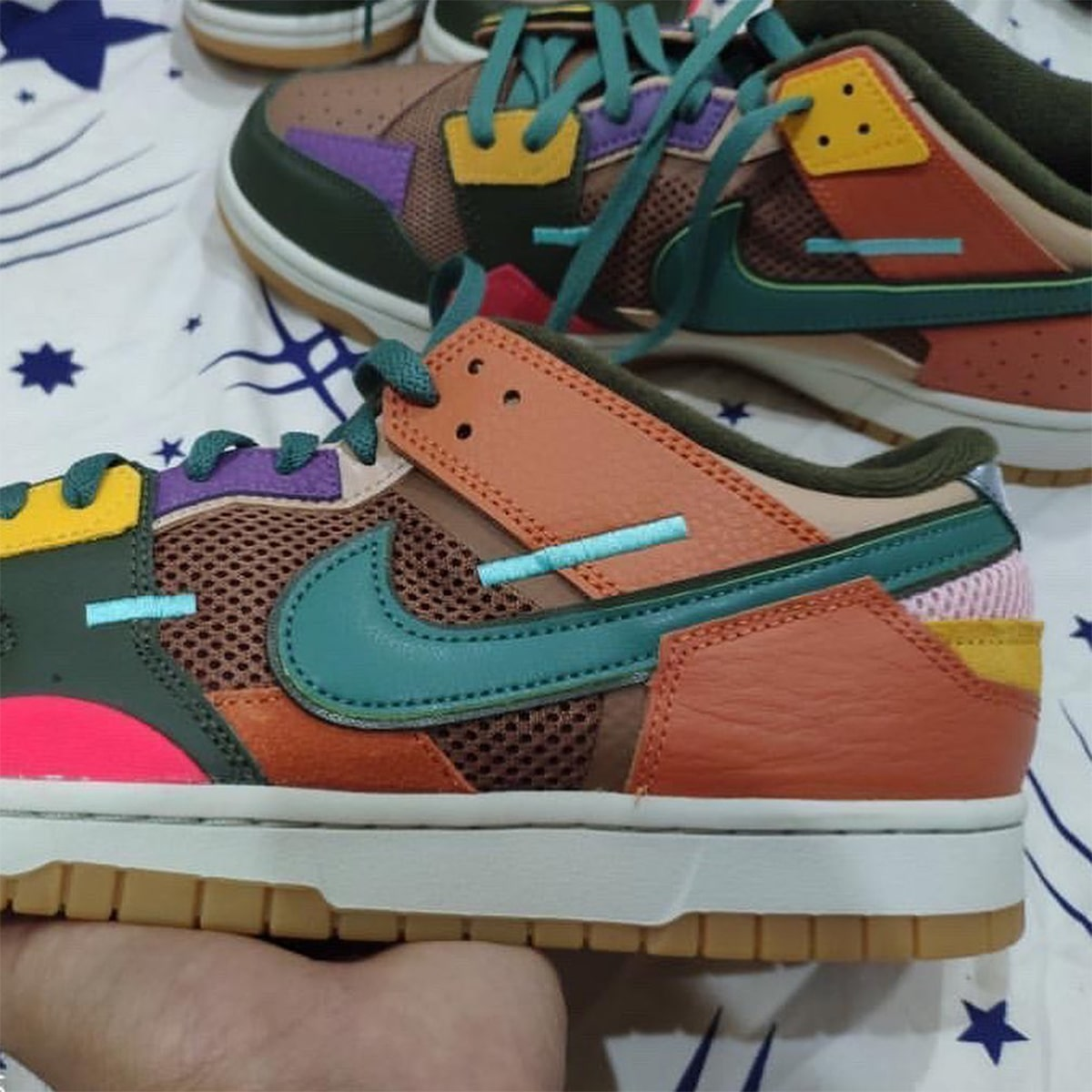 """First Looks // Nike Dunk Scrap """"Archeo Brown"""""""