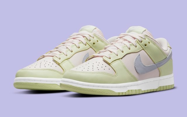 """Official Images // Nike Dunk Low """"Lime Ice"""""""
