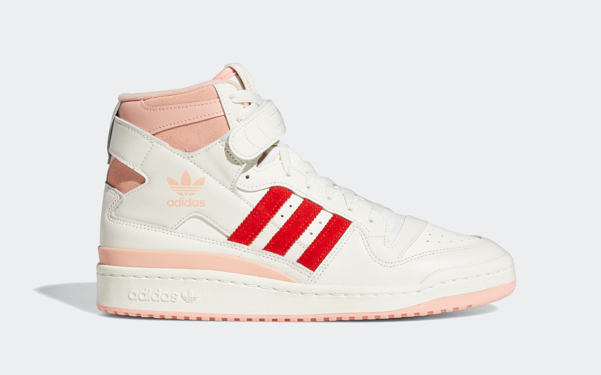 """Available Now // adidas Forum Hi """"Glow Pink"""""""