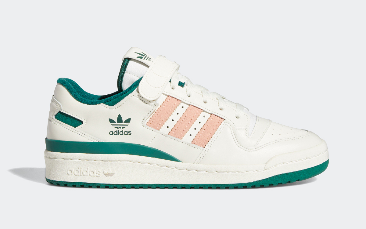 """Available Now // adidas Forum Low """"Collegiate Green"""""""
