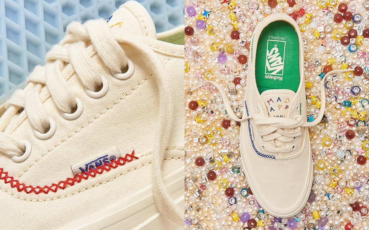 Madhappy Deliver the Vault By Vans OG Style 43 LX in Their Signature Stitching