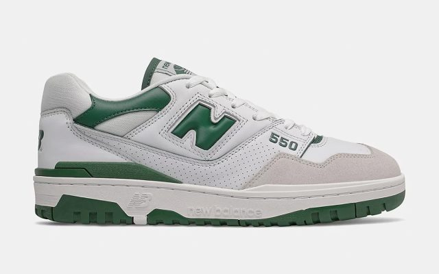 """New Balance 550 """"White/Green"""" Releases June 24th"""