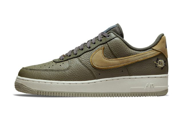 """Official Images // Nike Air Force 1 Low """"Turtle"""""""