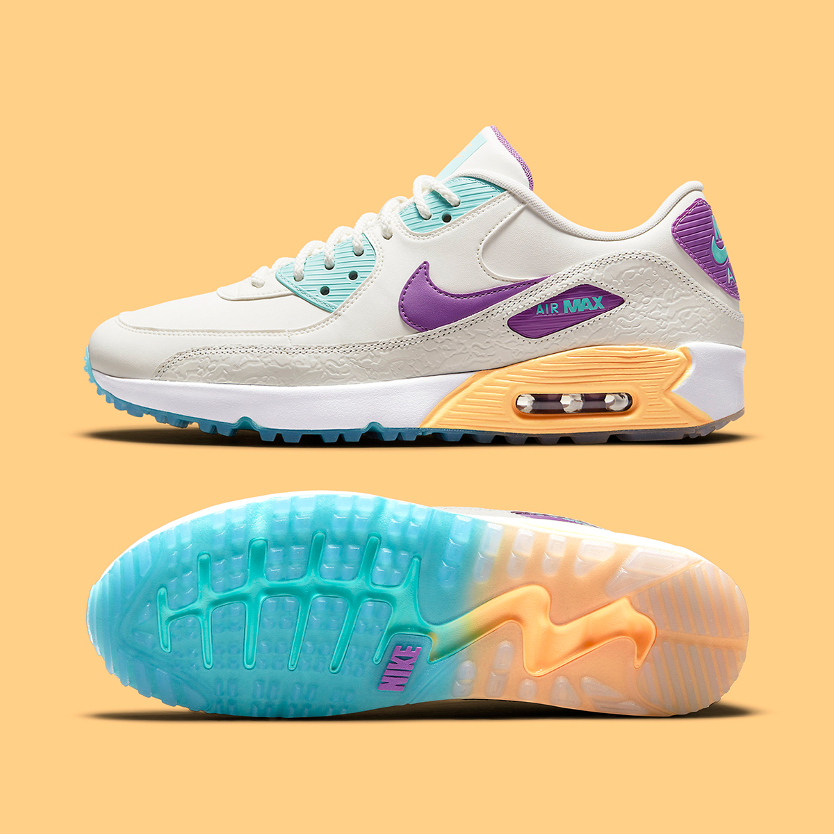 Nike Air Max 90 Golf Gets a Tropical Twist for Summer | HOUSE OF HEAT