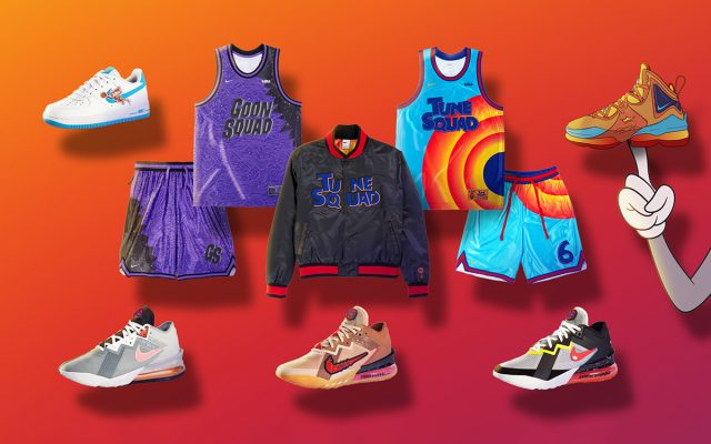 The Space Jam: A New Legacy Collection from Nike and Converse Arrives in July
