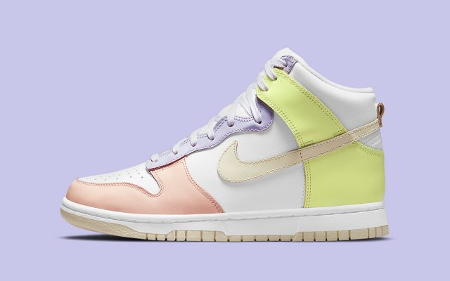 """Official Images // Nike Dunk High """"Cashmere"""""""