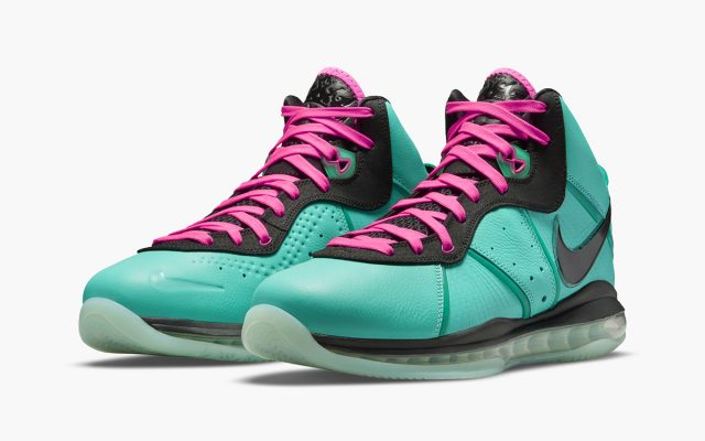"""Official Images // Nike LeBron 8 """"South Beach"""""""