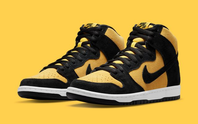 """Nike SB Dunk High """"Reverse Goldenrod"""" Dropping in July"""
