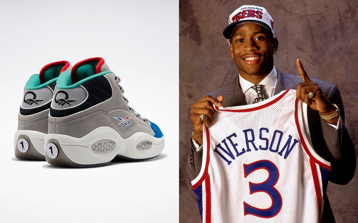 """Reebok Question Mid """"Draft Night"""" Celebrates 25th Anniversary of Iverson's #1 Selection"""